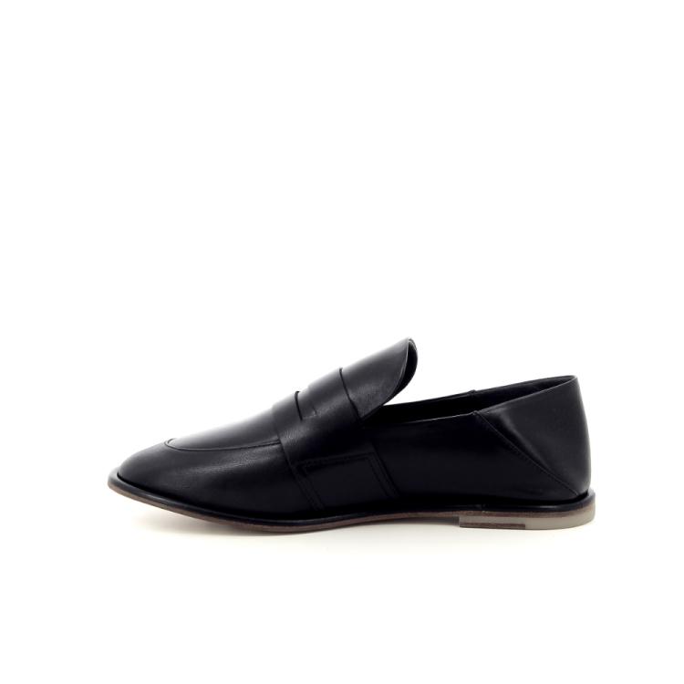 Agl damesschoenen mocassin zwart 191785