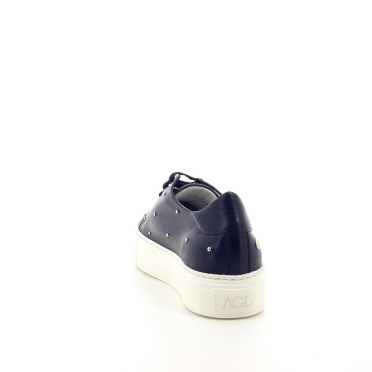 Agl damesschoenen sneaker zwart 191804