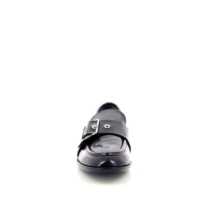 Agl damesschoenen mocassin zwart 199251