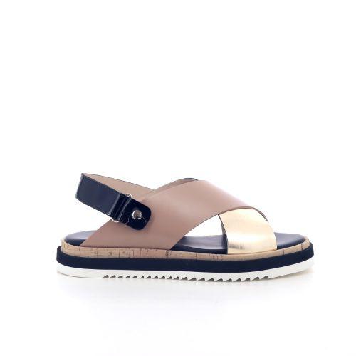 Agl solden sandaal naturel 205622