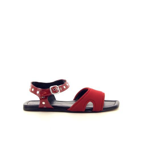 Agl solden sandaal rood 192382
