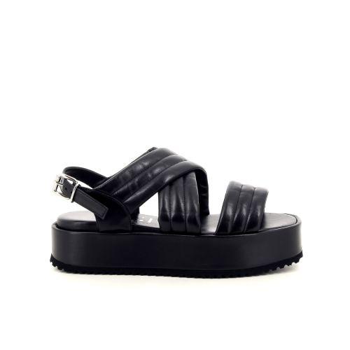 Agl solden sandaal zwart 192378