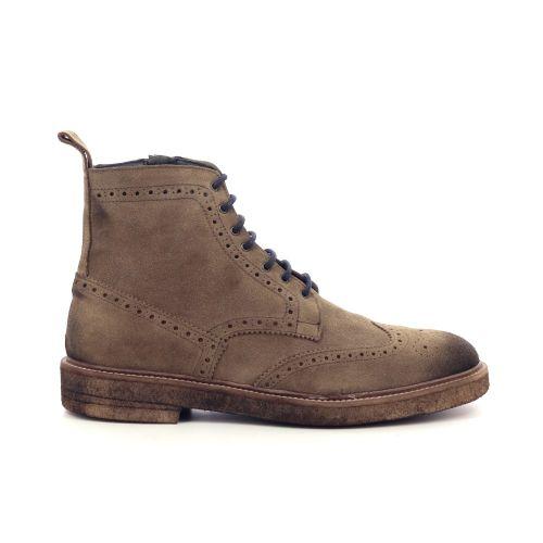 Ago nord herenschoenen boots cognac 210127