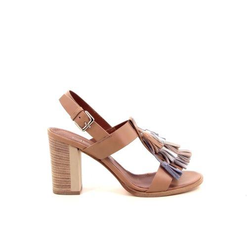 Akua damesschoenen sandaal taupe-rosÉ 173126