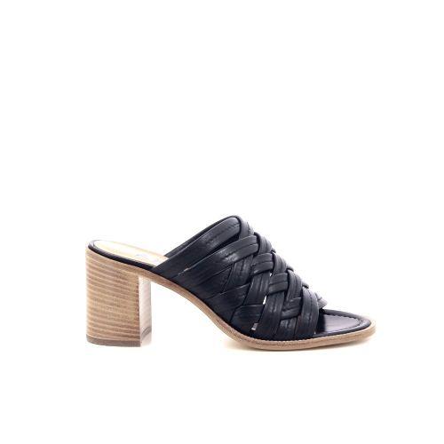 Akua damesschoenen sleffer zwart 215177