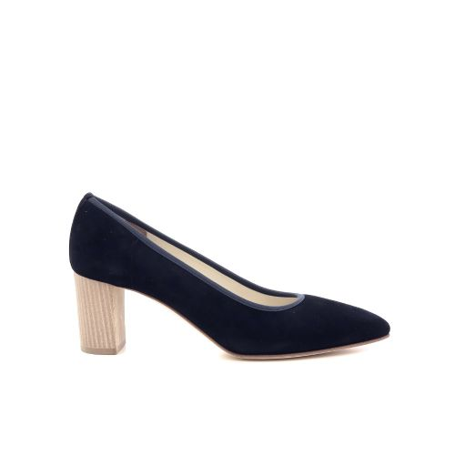 Alba teci  damesschoenen pump donkerblauw 206031