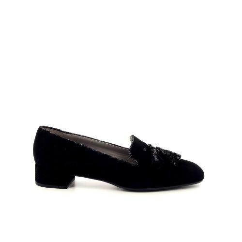 Alba teci  damesschoenen mocassin zwart 189548