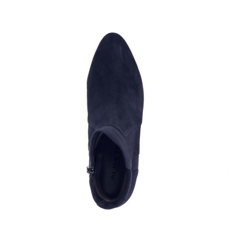 Alba teci  damesschoenen boots donkerblauw 200187