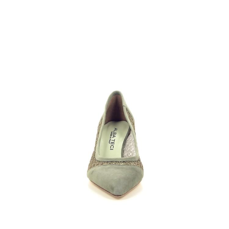 Alba teci  damesschoenen pump kaki 195526
