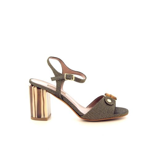 Albano damesschoenen sandaal kaki 184618