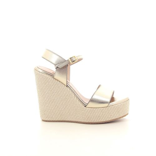 Albano damesschoenen sandaal platino 195026