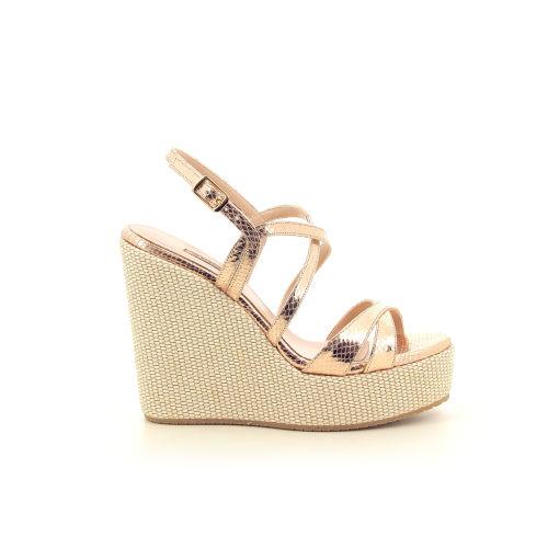 Albano damesschoenen sandaal poederrose 195025