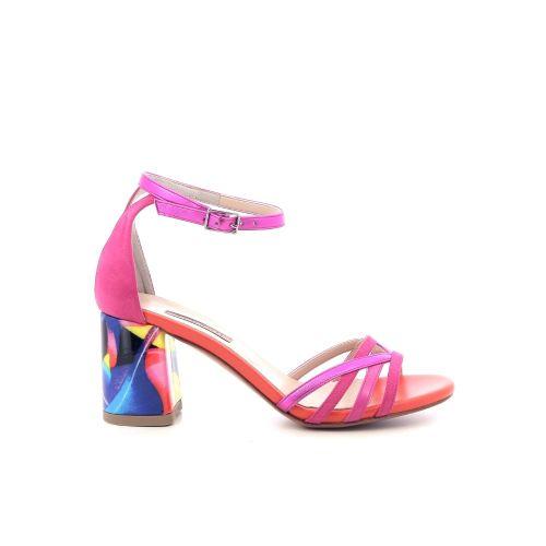 Albano damesschoenen sandaal poederrose 214431