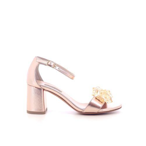 Albano damesschoenen sandaal zilver 205454