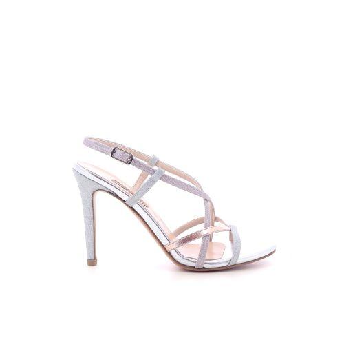 Albano damesschoenen sandaal zilver 205455