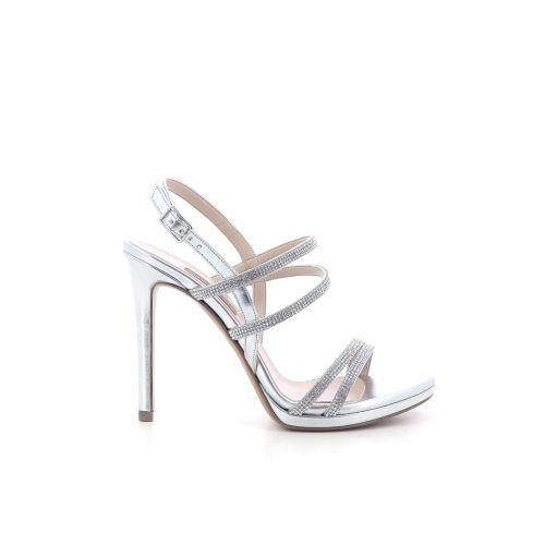 Albano damesschoenen sandaal zilver 205463