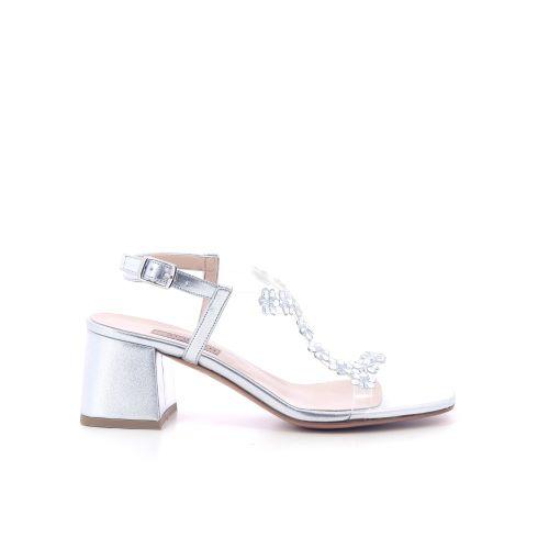 Albano damesschoenen sandaal zilver 214430