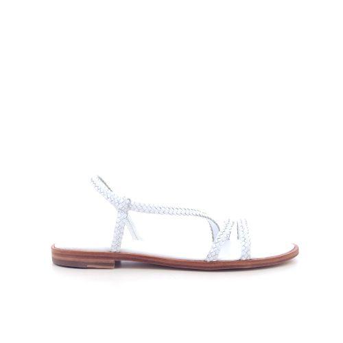 Allan k damesschoenen sandaal wit 203256