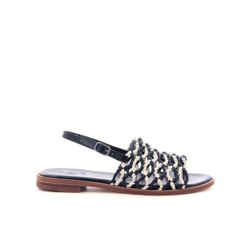 Allan k  sandaal zwart 213766
