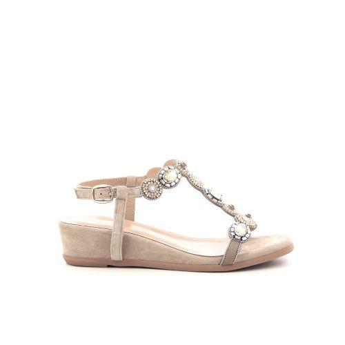 Alma en pena damesschoenen sandaal lichtgroen 214736