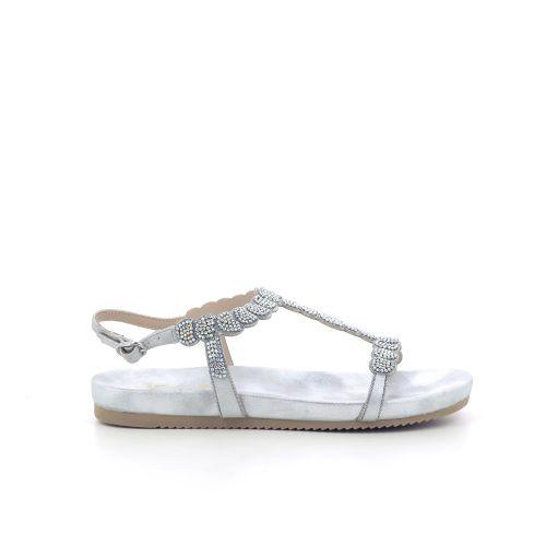 Alma en pena damesschoenen sandaal zilver 205490