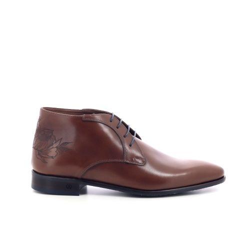 Ambiorix herenschoenen boots cognac 204633