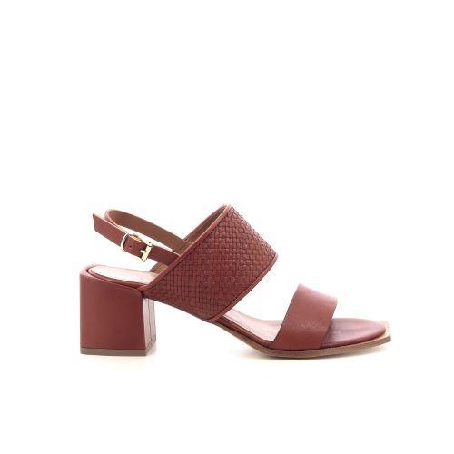 Andrea catini damesschoenen sandaal cognac 213103