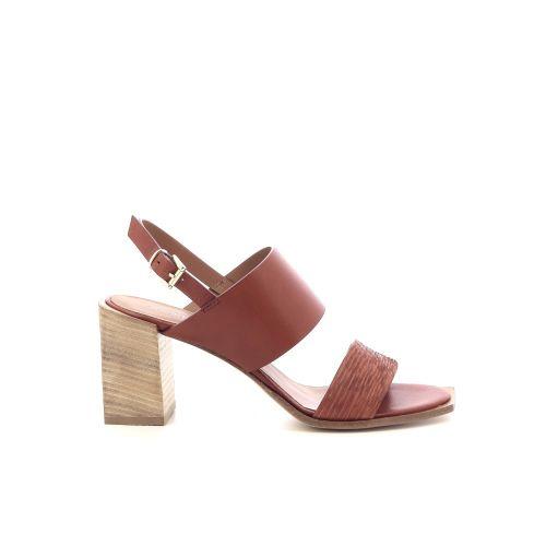 Andrea catini damesschoenen sandaal cognac 213108