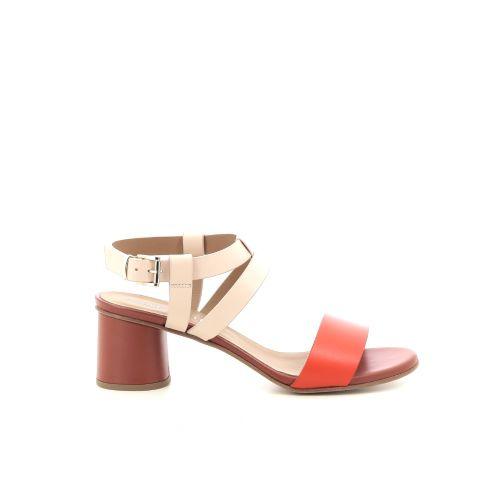 Andrea catini damesschoenen sandaal koraalrood 203387