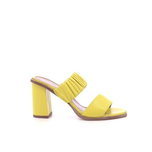 Angelo bervicato damesschoenen sleffer geel 205506