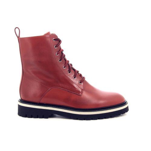Angelo bervicato damesschoenen boots rood 198196