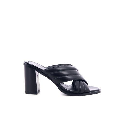 Angelo bervicato damesschoenen sleffer zwart 205509