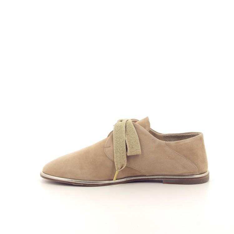 Angelo bervicato damesschoenen veterschoen camel 193580
