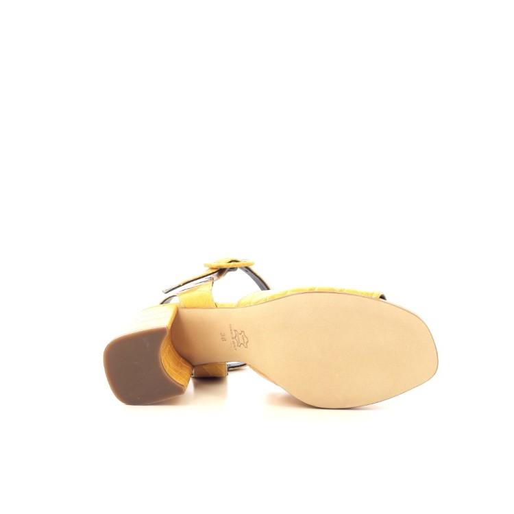Angelo bervicato damesschoenen sandaal geel 204174