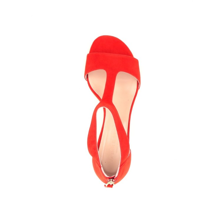 Angelo bervicato damesschoenen sandaal rood 193577