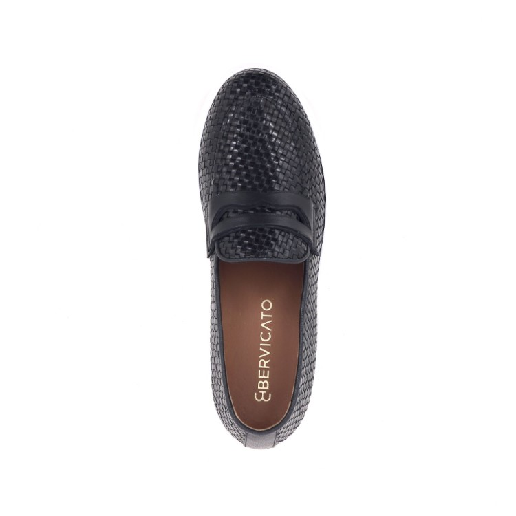 Angelo bervicato damesschoenen mocassin zwart 204193