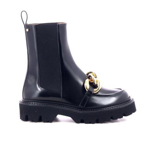 Angelo bervicato  boots zwart 218915