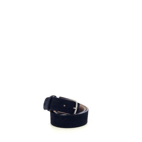 Angelo de lombardi accessoires riem donkerblauw 211735