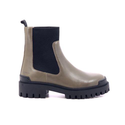 Angulus damesschoenen boots kaki 218939