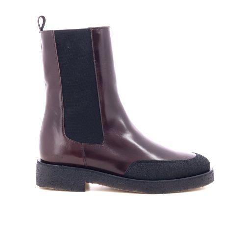 Angulus damesschoenen boots roodbruin 218936