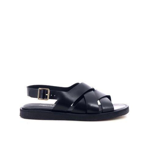 Angulus damesschoenen sandaal zwart 203506