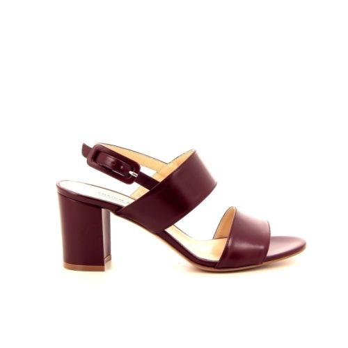 Antinori damesschoenen sandaal kersrood 171409