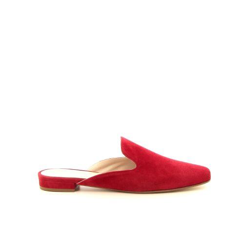 Anvers damesschoenen muiltje rood 182105
