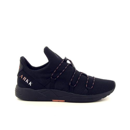 Arkk  herenschoenen sneaker zwart 187326