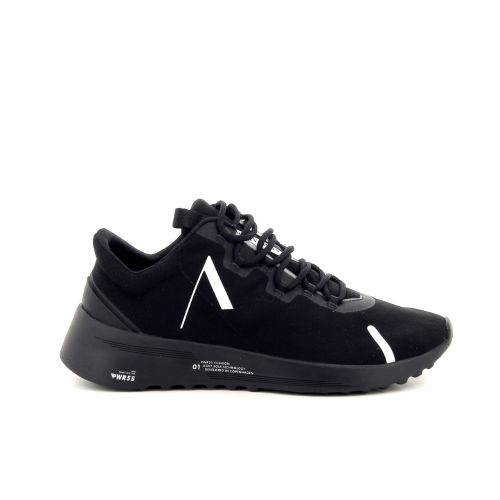 Arkk  herenschoenen sneaker zwart 191341