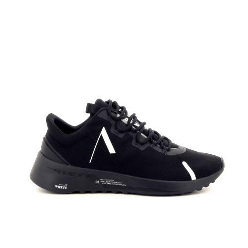 Arkk  solden sneaker zwart 191341