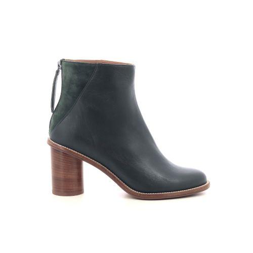 Atelier content damesschoenen boots donkergroen 218476