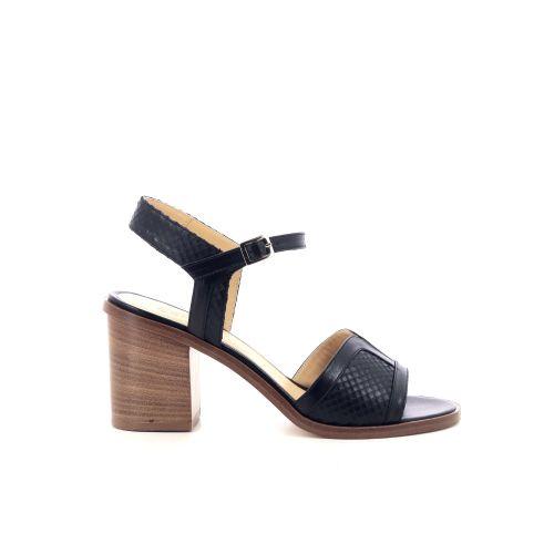 Atelier content damesschoenen sandaal zwart 203993