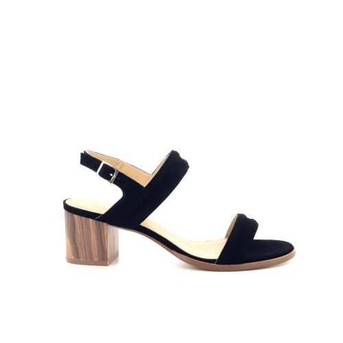 Atelier content damesschoenen sandaal zwart 212979
