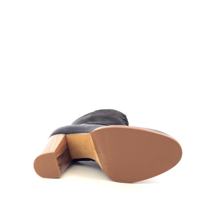 Atelier content damesschoenen boots zwart 201075